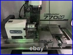 Tormach 770M Mill, 2018 RapidTurnTM Chucker Lathe Accessory, 4th Axis Capable
