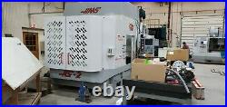 USED HAAS 4-Axis HS-2RP Horizontal CNC Machining Center with Tombstone & Vises