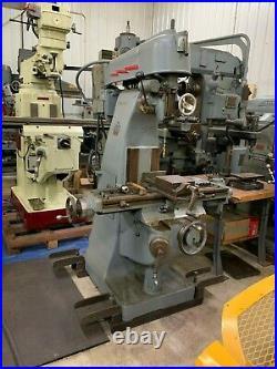 U. S. Machine Tool Model VT Vertical Milling Machine Item 1068