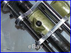 Unimat SL/DB Milling Attatchment Enhancement Bracket w Zero Set Custom New! #1