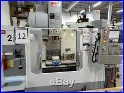 Used 2006 Haas VF-2 CNC Vertical Machining Center Mill Side Mnt VMC 3016 Machine