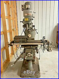 Used Running Machine Millport Model 2s Milling Machine