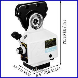 VEVOR AS-250 150Lbs Torque Power Feed Milling Machine X-Axis 150LBS Torque