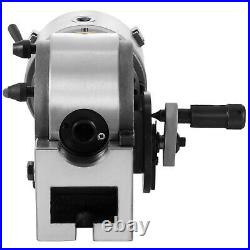 VEVOR BS-0 5 Dividing Head 3-Jaw Chuck Tailstock For CNC Milling for Industry