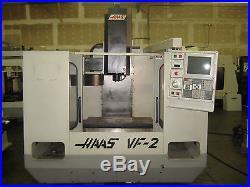 VIDEO SCROLL DOWN HAAS VF-2 CNC MILL VF 2 VF2 VERTICAL MILLING CENTER LMSI