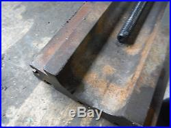 VINTAGE BENCHMASTER MILLING MACHINE T SLOT TABLE With SCREW BENCH MASTER