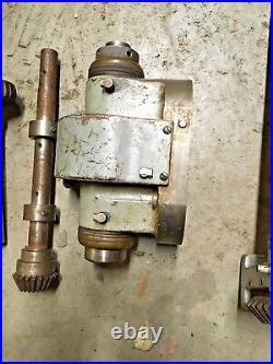 Van Norman 1/2 Duplex Milling Machine Horizontal / Vertical Head and gear shafts