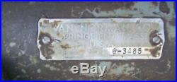 Van Norman Indexing / Dividing Head (for Parts Or Repair)