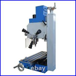 Variable Speed 20 × 5-1/2 Bench Drill Mill Brushless Motor 1HP