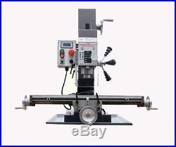 Variable Speed Brushless DC Motor Milling and Drilling machine WMD25V 220V New