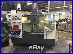 Vertical CNC HAAS VF2 with 4th Axis