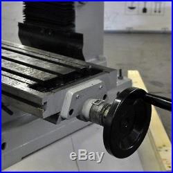 Vertical Metalworking Drill Milling Machine ZX45 9 1/2 x 32 Inch Gear Motor