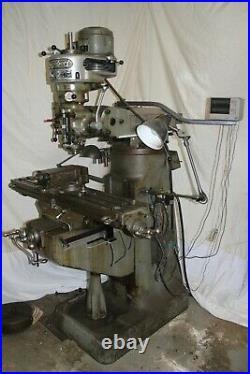 Verticle milling machine Bridgeport