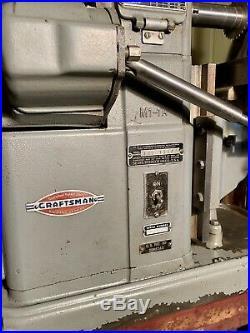 Vintage Craftsman Atlas Horiztonal Benchtop Milling Machine