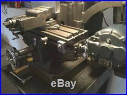 Vintage Machinist Atlas Horizontal Milling Machine Rare + Tooling