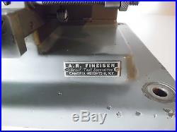 Vintage Small Horizontal Milling Machine Made Germany Mini Micro Miniature Mill