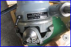Volstro Rotary Milling Head #1203 for Bridgeport J 2J Vertical Mill NO RESERVE