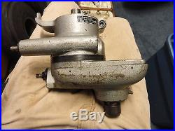 Volstro Rotary Milling Head Bridgeport Mill With accessories