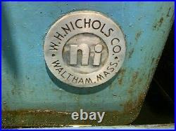 W. H. Nichols Co, Horizontal Milling/Slotting Machine