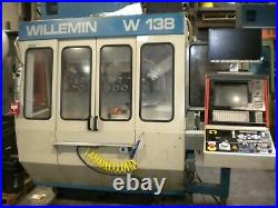 Willemin W-138 Cnc Milling Machine, Multi Axis, Tooling And Spares Very Gd Cond