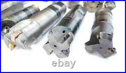 X12 Huge Job Lot Indexable End Mills Carbide Tip Various Milling Cutters Seco 7