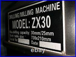 ZX30 Mill/Drill Milling Machine